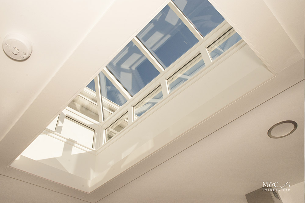 A beautiful Skylight in a residential property by M&C Joinery
