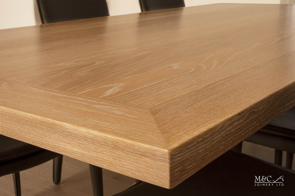Expertly crafted wood finish by M&C Joinery
