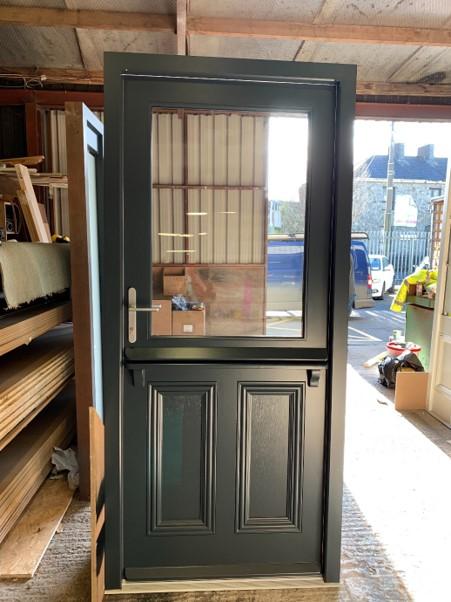 Half Door With Glass